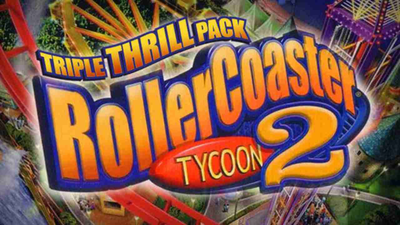 download game RollerCoaster Tycoon 2 Triple Thrill Pack