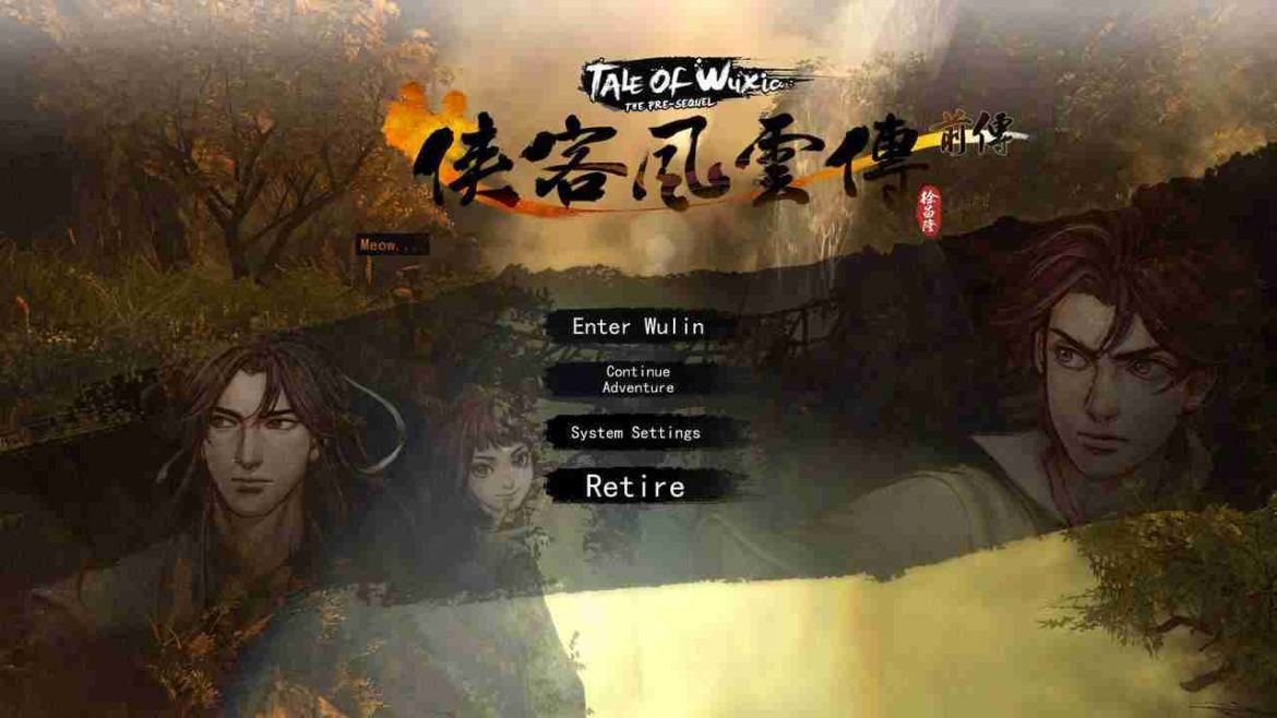 download game Download Game Tale Of Wuxia: The Pre Sequel
