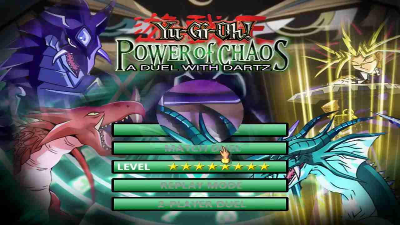 Download Game Yu-Gi-Oh: Power Of Chaos A Duel With Dartz
